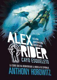 CAYO ESQUELETO. ALEX RIDER 3