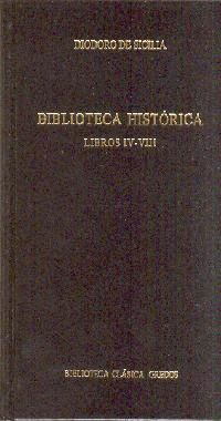 BIBLIOTECA HISTORICA LIBROS IV-VIII