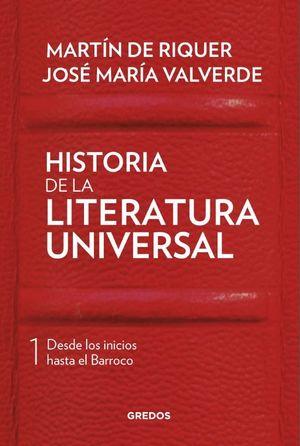 HISTORIA DE LA LITERATURA UNIVERSAL 1
