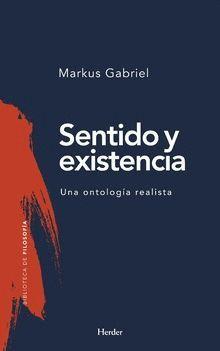 SENTIDO Y EXISTENCIA