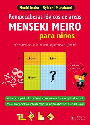 MENSEKI MEIRO PARA NIÑOS. ROMPECABEZAS LÓGICOS DE ÁREAS
