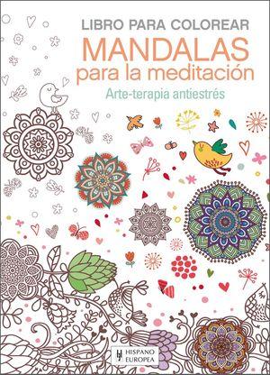 Mandalas Para La Meditacion Libro Para Colorear Librería Canaima