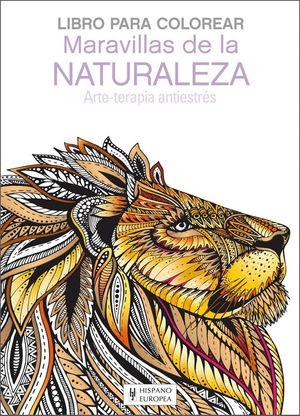 MARAVILLAS DE LA NATURALEZA. LIBRO PARA COLOREAR