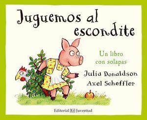 JUGUEMOS AL ESCONDITE. UN LIBRO CON SOLAPAS