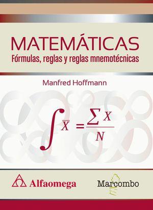 MATEMATICAS FORMULAS, REGLAS Y REGLAS MNEMOTECNICAS