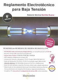 REGLAMENTO ELECTROTÉCNICO PARA BAJA TENSIÓN (REBT) (NUEVA EDICIÓN)