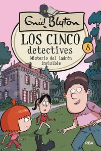 LOS CINCO DETECTIVES 8 MISTERIO DEL LADRÓN INVISIBLE