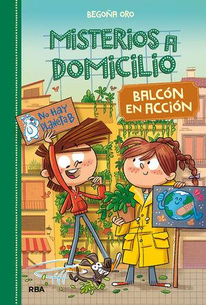 MISTERIOS A DOMICILIO 8 BALCÓN EN ACCIÓN