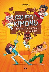 EQUIPO KIMONO 1 SARDINAS PELEONAS AL ATAQUE