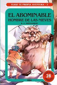 EL ABOMINABLE HOMBRE DE LAS NIEVES. ELIGE TU PROPIA AVENTURA 3.