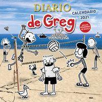 CALENDARIO DIARIO DE GREG 2021