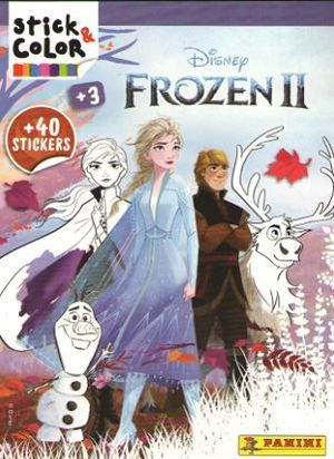 FROZEN 2. STICK COLOR