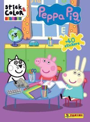 PEPPA PIG. STICK & COLOR