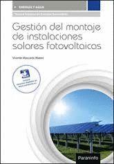 GESTION DEL MONTAJE DE INSTALACIONES SOLARES FOTOVOLTAICAS