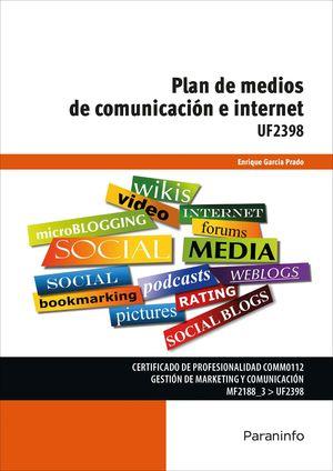 PLAN DE MEDIOS COMUNICACIÓN E INTERNET UF2398