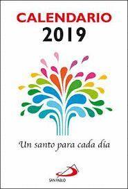 CALENDARIO 2019 UN SANTO PARA CADA DÍA (TACO PEQUEÑO)