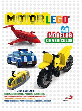 MOTOR LEGO. 40 MODELOS DE VEHÍCULOS