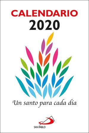 CALENDARIO PARED 2019 UN SANTO PARA CADA DIA (TACO GRANDE)