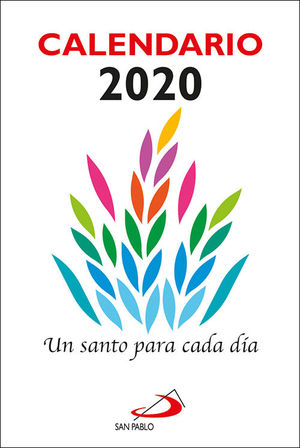 CALENDARIO 2020 UN SANTO PARA CADA DÍA (TACO PEQUEÑO)