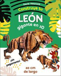CONSTRUYE TU LEON GIGANTE EN 3D (CAJA)