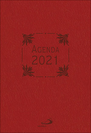 AGENDA 2021 (PIEL MORADA)