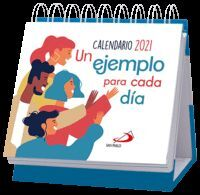 CALENDARIO DE MESA 2021 UN EJEMPLO PARA CADA DIA