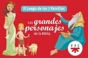 LOS GRANDES PERSONAJES DE LA BIBLIA (CARTAS)