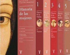 HISTORIA DE LAS MUJERES (5 VOLÚMENES / ESTUCHE)
