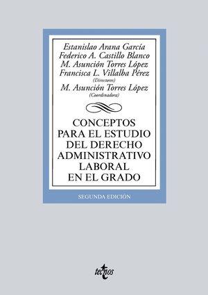 CONCEPTOS PARA EL ESTUDIO DEL DERECHO ADMINISTRATIVO LABORAL EN EL GRADO