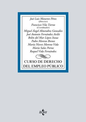 CURSO DE DERECHO DEL EMPLEO PÚBLICO