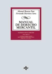 MANUAL DE DERECHO MERCANTIL T.II