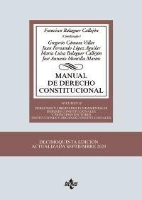 MANUAL DE DERECHO CONSTITUCIONAL T.II