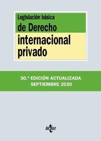 LEGISLACIÓN BÁSICA DE DERECHO INTERNACIONAL PRIVADO - 139
