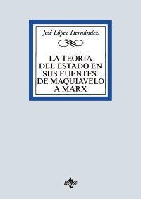 LA TEORÍA DEL ESTADO EN SUS FUENTES: DE MAQUIAVELO A MARX