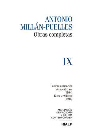 MILLÁN-PUELLES. VOL. IX. OBRAS COMPLETAS