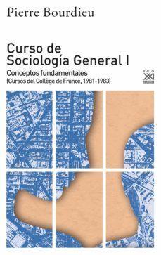CURSO DE SOCIOLOGIA GENERAL I