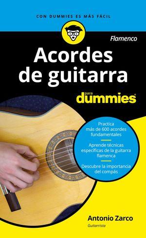 ACORDES DE GUITARRA (FLAMENCO) DUMMIES