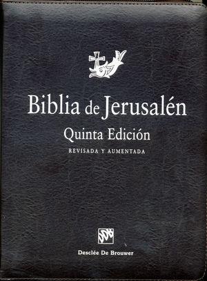 BIBLIA DE JERUSALEN (RUSTICA CON FUNDA DE CREMALLERA)