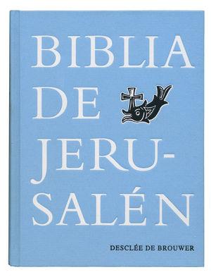 BIBLIA DE JERUSALEN (AZUL EN TELA)