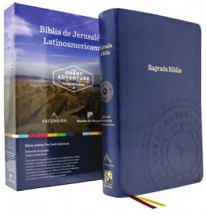 BIBLIA DE JERUSALÉN LATINOAMERICANA - THE GREAT ADVENTURE