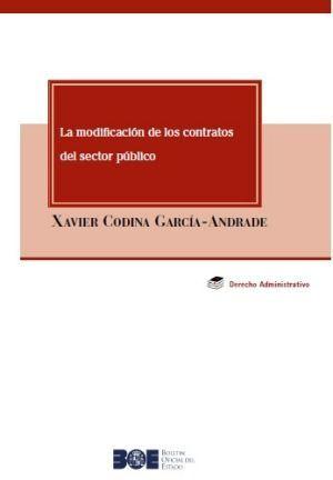 MODIFICACION DE LOS CONTRATOS DEL SECTOR PUBLICO