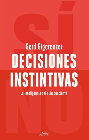 DECISIONES INSTINTIVAS