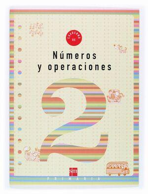 CUADERNO DE NUMEROS Y OPERACIONES 2 PRIMARIA