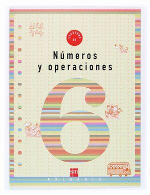 CUADERNO DE NUMEROS Y OPERACIONES 6 PRIMARIA