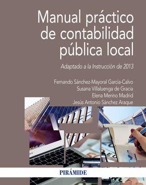 MANUAL PRÁCTICO DE CONTABILIDAD PÚBLICA LOCAL