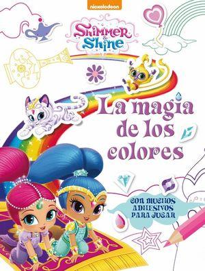 LA MAGIA DE LOS COLORES SHIMMER & SHINE