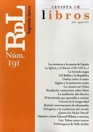 REVISTA DE LIBROS N.191