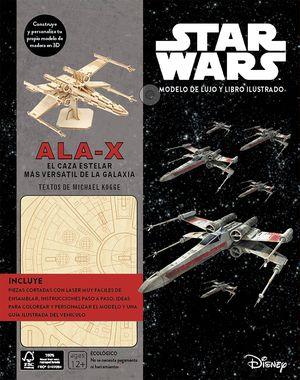 KIT ALA-X - STAR WARS MODELO DE LUJO Y LIBRO ILUSTRADO