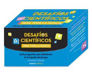 DESAFÍOS CIENTÍFICOS PARA TODA LA FAMILIA (150 CARTAS)