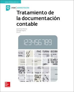TRATAMIENTO DE LA DOCUMENTACION CONTABLE. LIBRO DEL ALUMNO